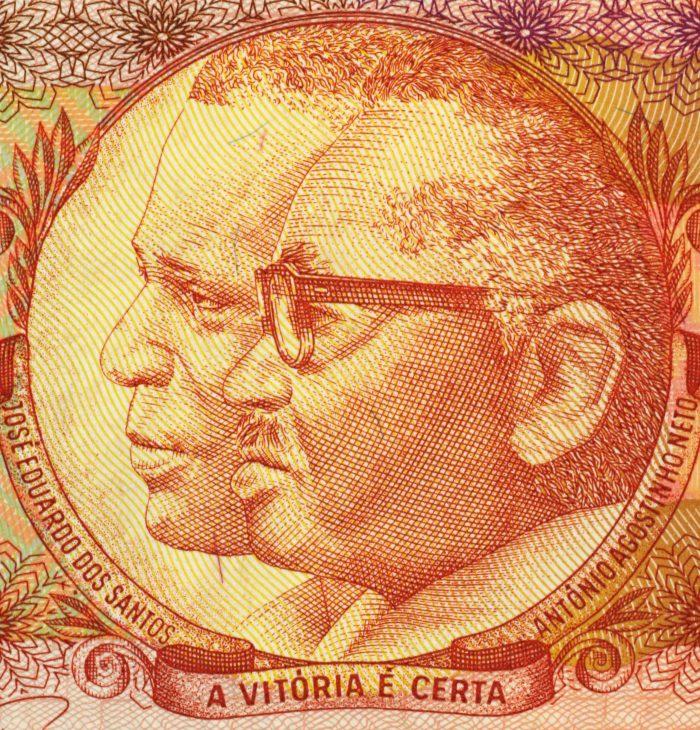 Jose Eduardo Dos Santos And Antonio Agostinho Neto