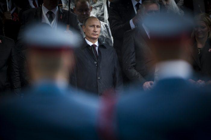 Vladimir Putin In Belgrade