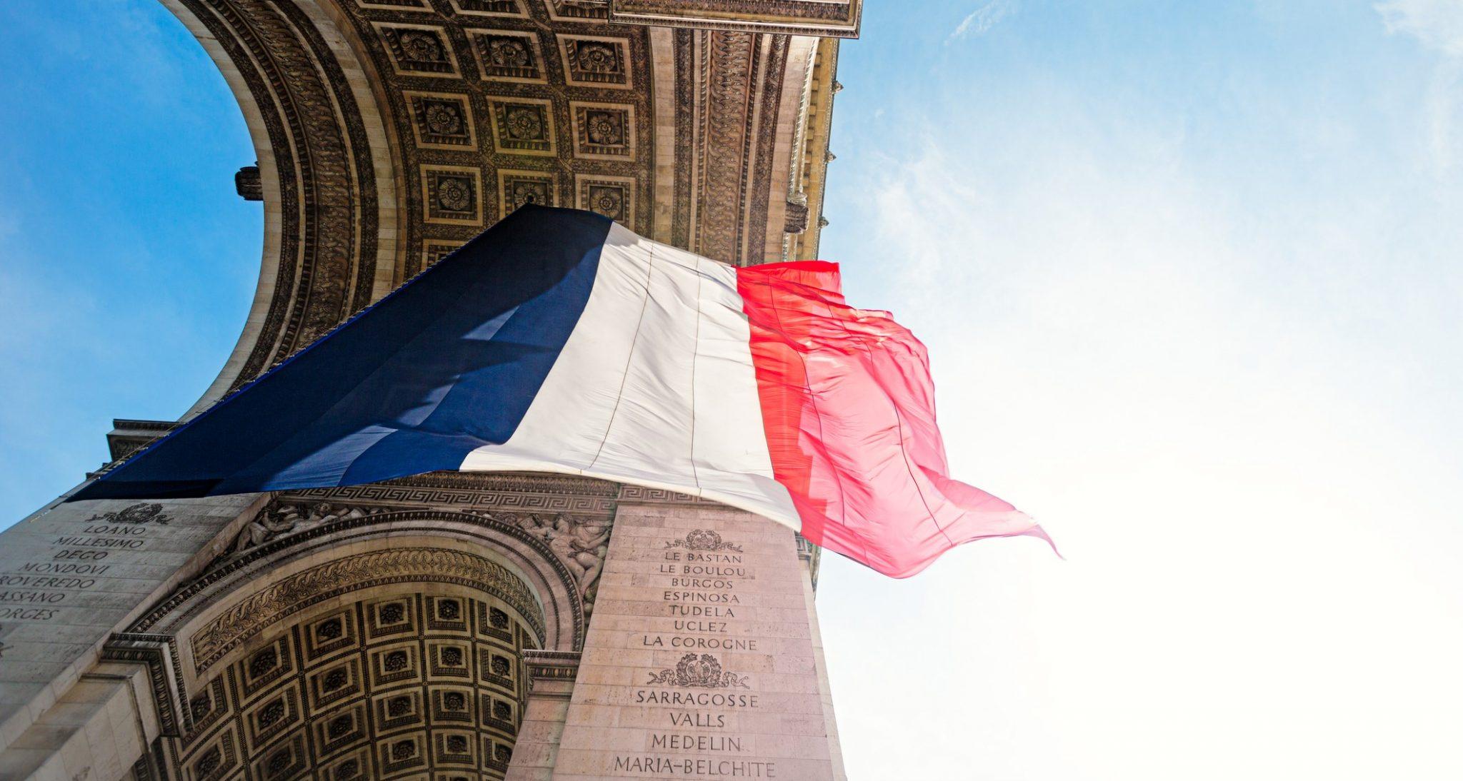 Arc De Triomphe In The Charles De Gaulle Square