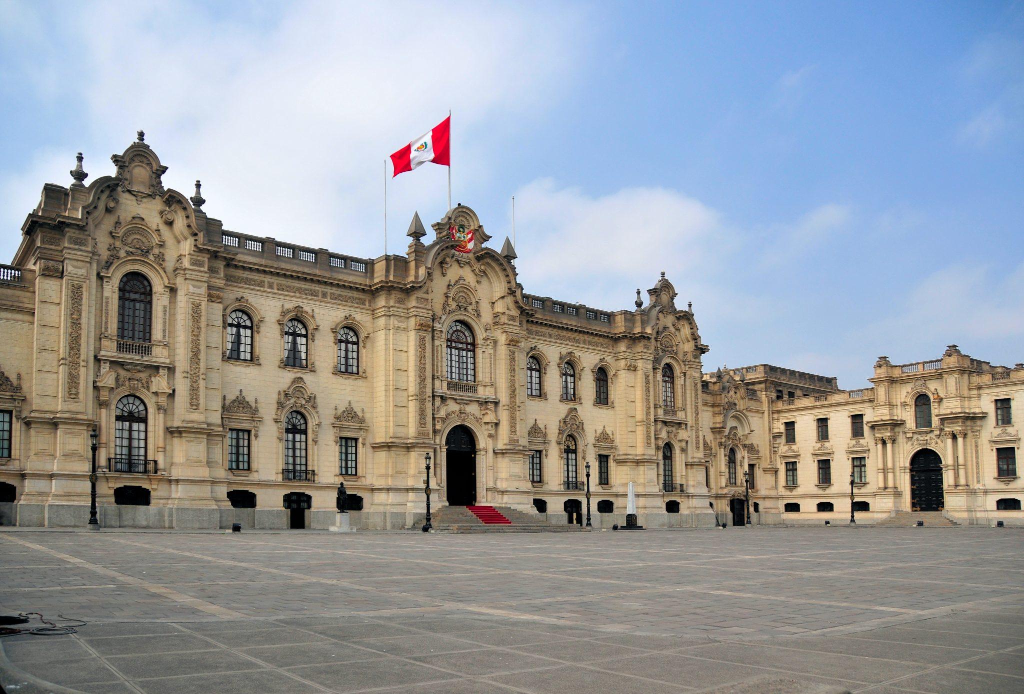 Lima, Peru: Government Palace